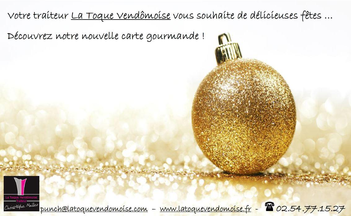 Catalogue de fin d'année - menu fêtes Traiteur Vendôme - Traiteur Loir-et-Cher - 41